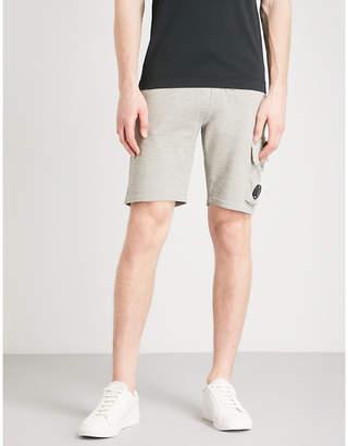 C.P. Company Drawstring cotton-jersey shorts