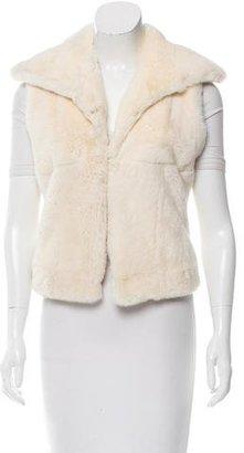 La Perla Fur Oversize Vest $250 thestylecure.com