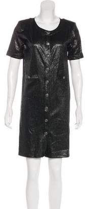 Chanel 2018 Iridescent Jersey Dress w/ Tags