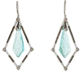 Jude Frances Multistone Drop Earrings