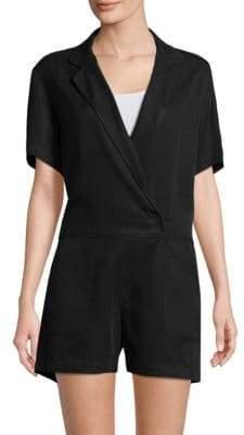 Gwyneth Short-Sleeve Romper