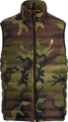 Ralph Lauren Camo Packable Down Vest