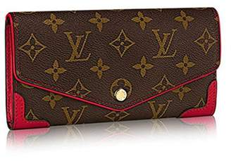 Louis Vuitton Monogram Canvas Sarah Wallet Retiro Article M61184 1ff90c9a9