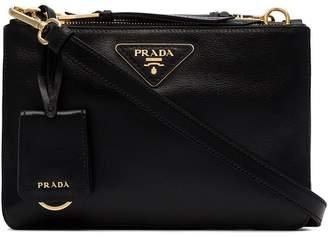 Prada Etiquette double-zip cross-body bag