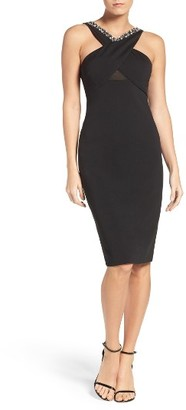 Women's Eci Embellished Sheath Dress $88 thestylecure.com