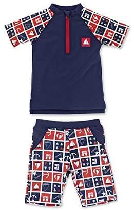 Sterntaler Baby Boys' 2-TLG. Schwimmanzug Swimwear Set,18-24 Months