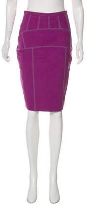 Proenza Schouler Pencil Knee-Length Skirt