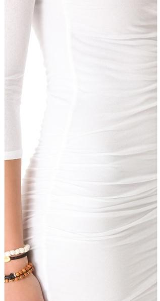 James Perse Soft Multi Layer Dress