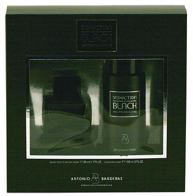 Antonio Banderas Black Seduction 2-Piece Gift Set