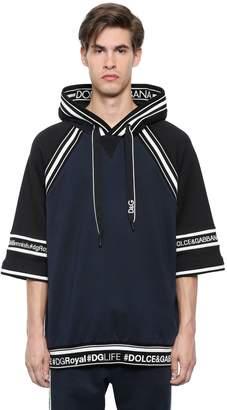 Dolce & Gabbana Hooded Hashtags Cotton Sweatshirt
