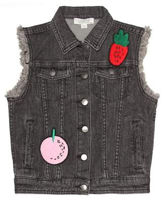Stella McCartney Embellished denim vest