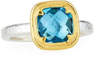Gurhan Malibu Blue Topaz Ring, Size 7
