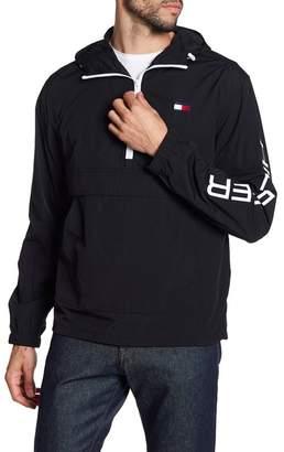 3bd2e185 Tommy Hilfiger Taslan Retro Half-Zip Hooded Pullover
