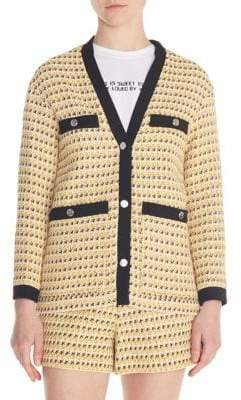 Maje Visidore Textured Jacket