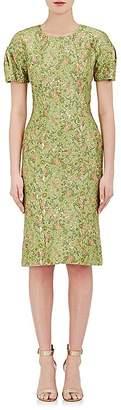 Zac Posen WOMEN'S FLORAL JACQUARD SHEATH DRESS