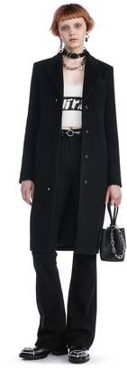 Alexander Wang Tailored Coat With Rivet Detail