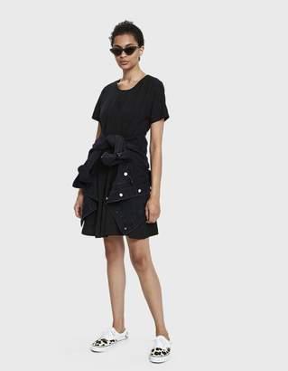 Farrow Dori Linen Shift Dress