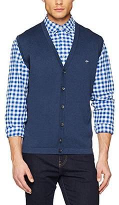 ... Fynch-Hatton Fynch Hatton Men s Gilet, Backside-Structure Vest Top,X- 91152181838e