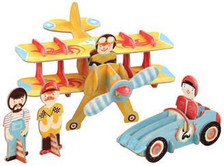 Toysmith Krooom Racing Team Playset