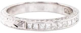 Tacori Platinum Diamond Wedding Band
