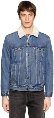 Levi's Trucker Denim Jacket W/ Faux Shearling