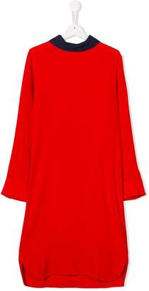 Marni TEEN colour block shift dress