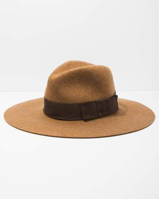 7 For All Mankind Brixton Piper Hat in Heather Coffee