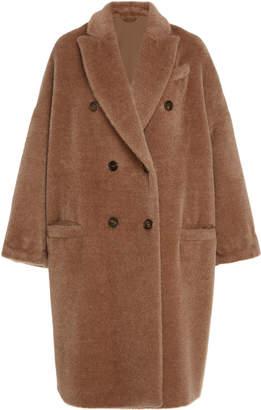Brunello Cucinelli Oversized Alpaca-Blend Coat