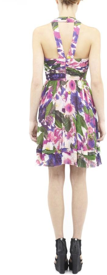 Nicole Miller Erin Photo Flower Dress