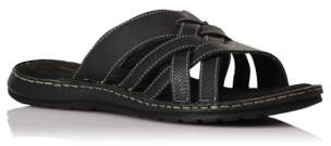 2870dfbf319f7 Mens Leather Woven Sandals - ShopStyle UK