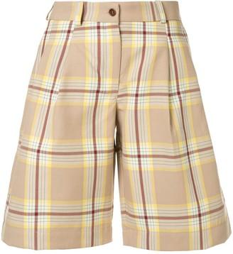 Jejia checked shorts