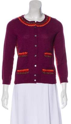 Marc Jacobs Clover Canyon Embellished Knit Cardigan