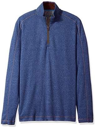 Robert Graham Men's Elia Long Sleeve Knit 1/4 Zip