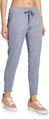 Iconic American Designer Slim-Fit Step-Cuff Jogger Pants