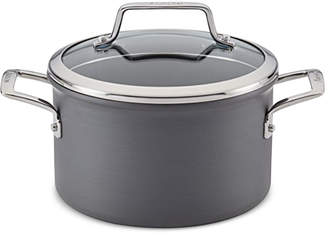 Anolon Authority Hard-Anodized 4-Qt. Saucepan with Lid
