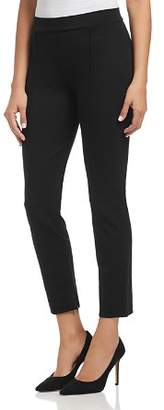 Three Dots Piped Ponte Ankle Pants