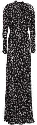 Tory Burch Diane Floral-print Silk-crepe Maxi Dress
