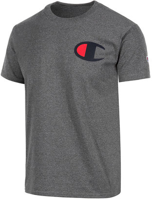 Champion Men's Logo Graphic T-Shirt $20 thestylecure.com