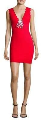 Marysia Swim Amagansett Lace-Up Dress