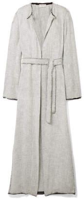 The Row Paycen Tweed Coat - Stone
