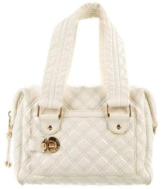 Marc Jacobs Patent Leather Quilted Handle Bag