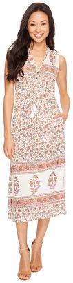 Lucky Brand - Printed Knit Dress Women's Dress $89.50 thestylecure.com