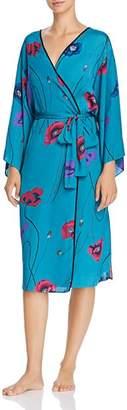 Josie Freestyle Printed Satin Long Robe