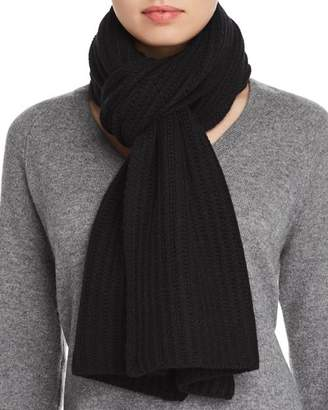 Bloomingdale's C by Chunky Rib-Knit Cashmere Scarf - 100% Exclusive