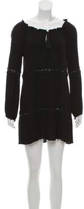 L-Space LSpace Long Sleeve Mini Dress