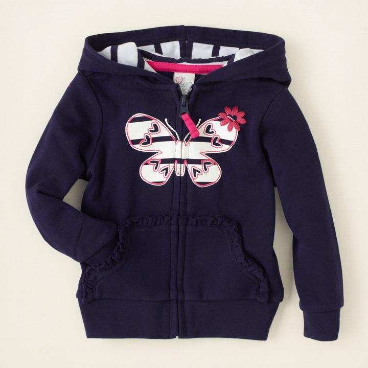 Children's Place Graphic zip-up hoodie