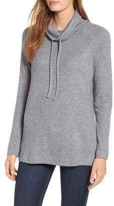 Chaus Sweater-Like Cowl Neck Top