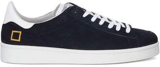 D.A.T.E D.a.t.e.twist Perforated Blue Pierced Suede Sneaker