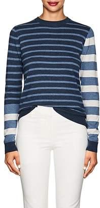 Derek Lam 10 Crosby Women's Striped Cotton-Cashmere Sweater
