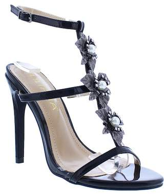 Liliana Golden Ankle Strap Sandal